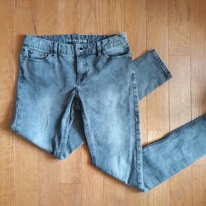 Micheal Kors Black/Gray Size 4 Skinny Jean